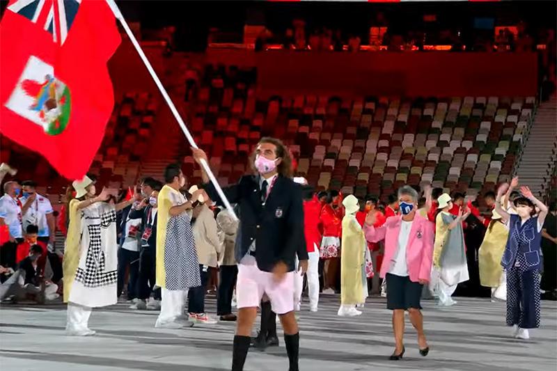 Bermuda team at Japan Olympics 2021 2020 (1)