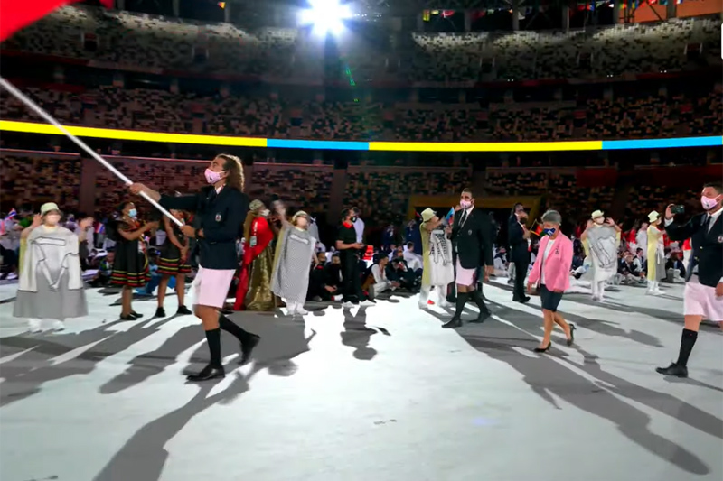 Bermuda team at Japan Olympics 2021 2020 (5)