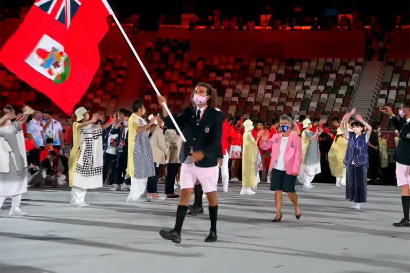 Bermuda team at Japan Olympics 2021 2020 (6)