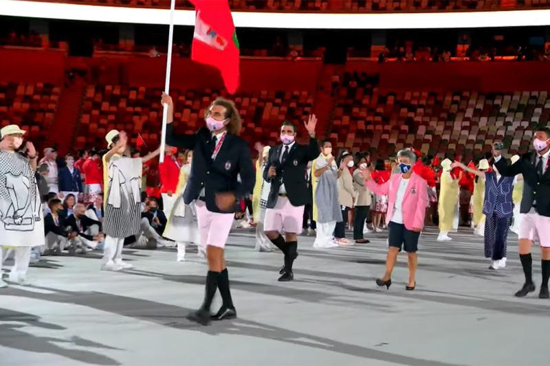 Bermuda team at Japan Olympics 2021 2020 (8)