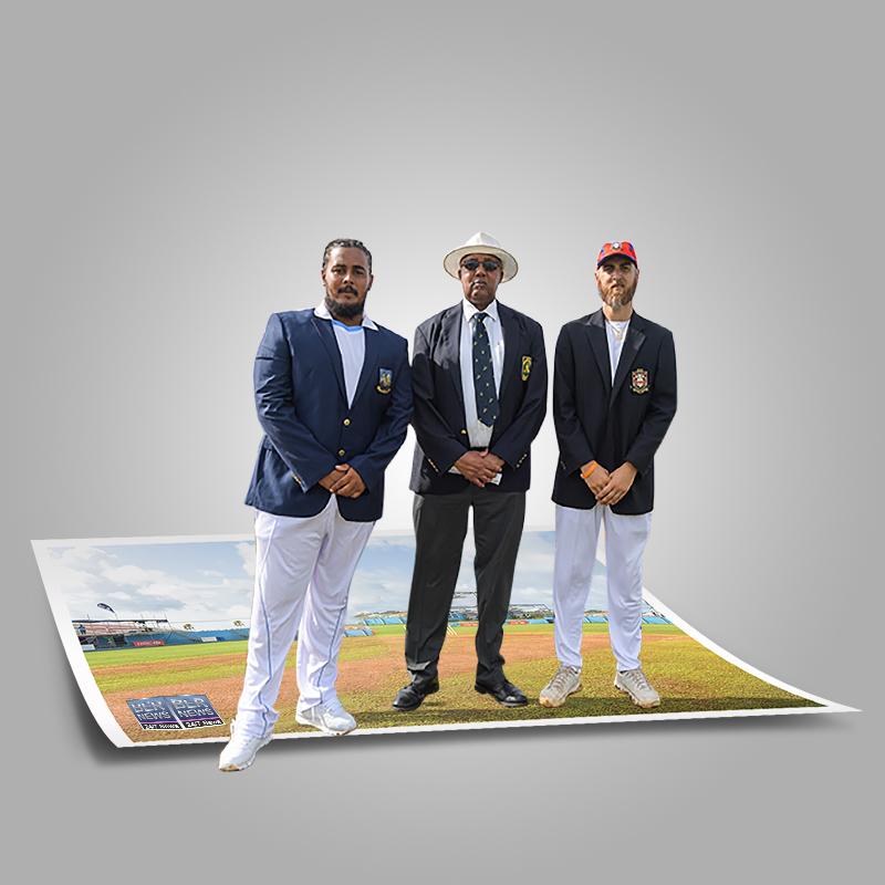 Cup Match Captains Onias Bascome & Jordan Desilva Bermuda July 2021