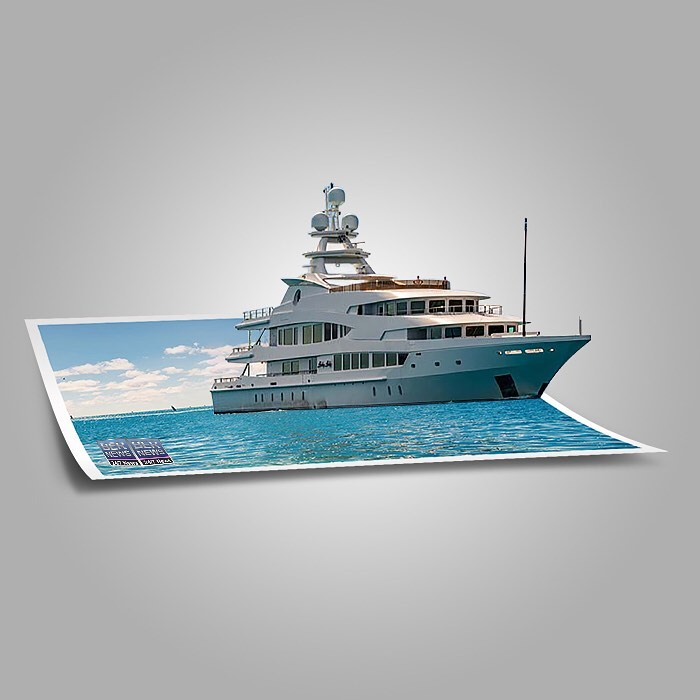 Super-Yacht Lucky Lady Bermuda July 2021
