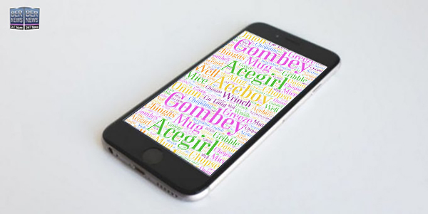 Word Art With New Bermuda Words From Oxford Dictionary Phone wallpaper wednesday TWFB